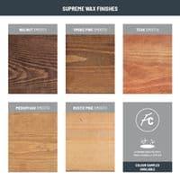 Tanfield Metal Bracket &Smooth Solid Wood Shelf | 12 x 2 Inch